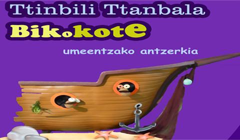 Bikokote  umeentzako  antzezlana