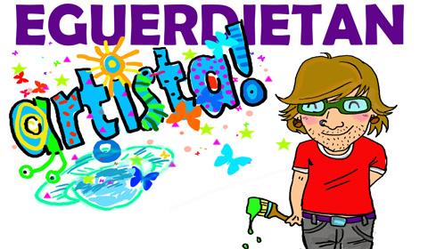 Eguerditako  artisten  bloga