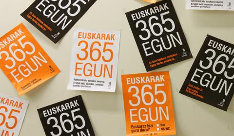 Euskarak  365  egun