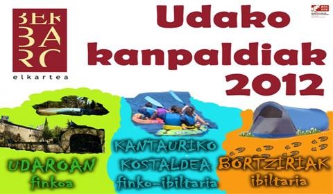 2012ko  udako  kanpaldiak  prest!