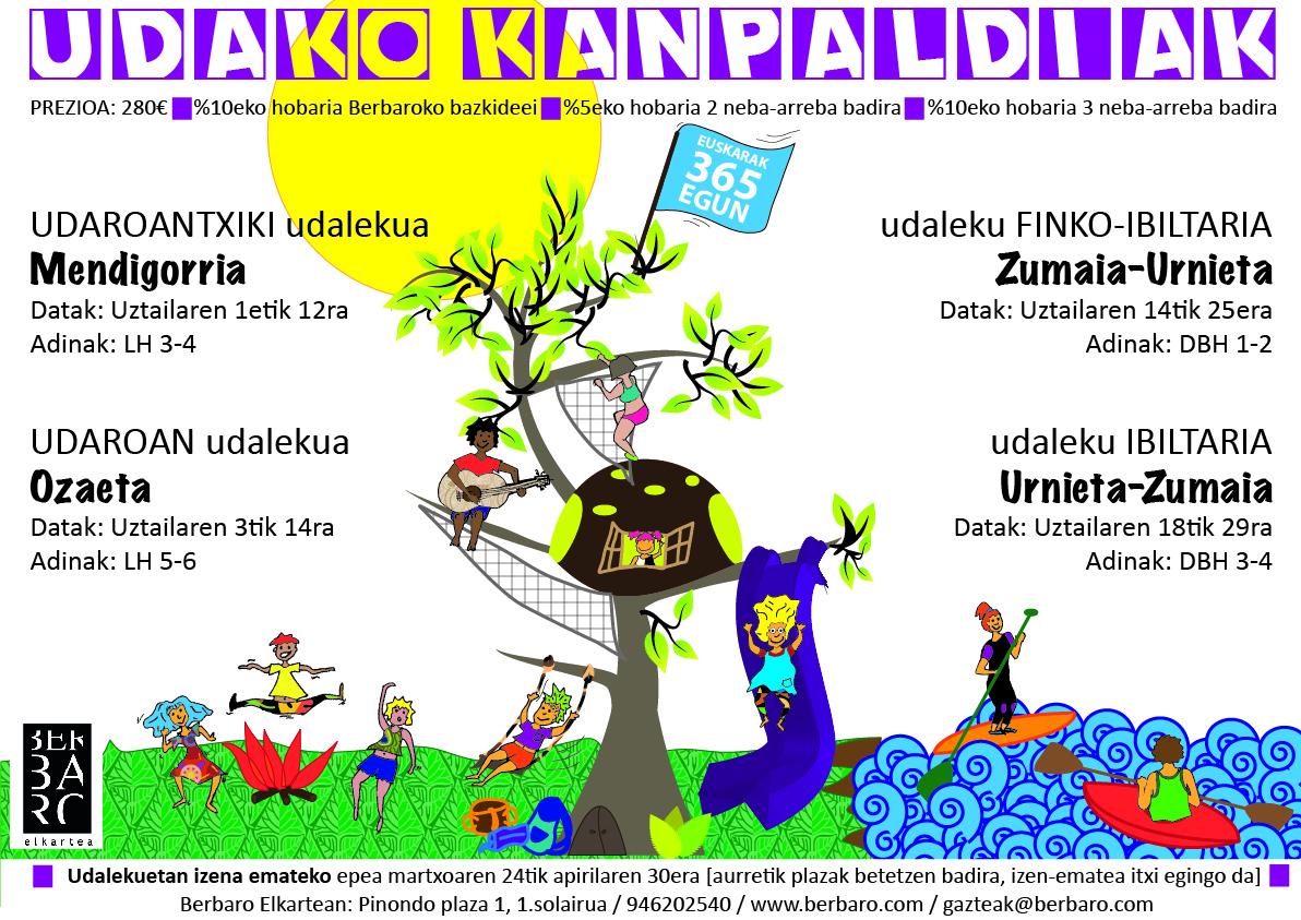 2014ko  udako  kanpaldiak  prest!!