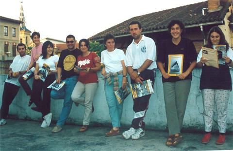 Familia  txiki  bat  ginen