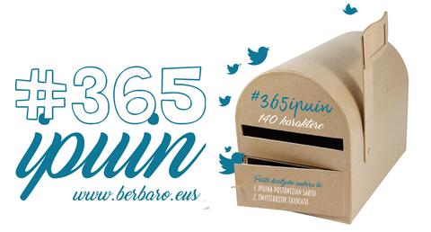 #365ipuin  lehiaketan  parte  hartzeko  aukera  abenduaren  2a  arte!