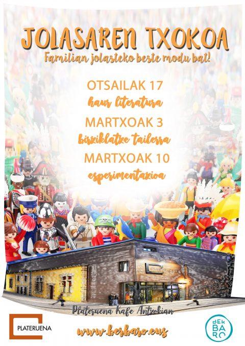 Jolasaren  Txokoa:  Birziklatze  tailerra