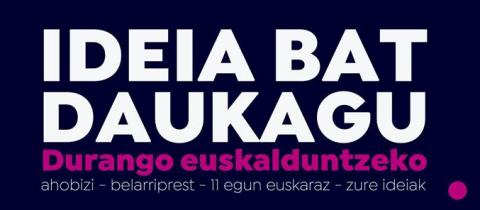 Euskaraldia  Durangon!