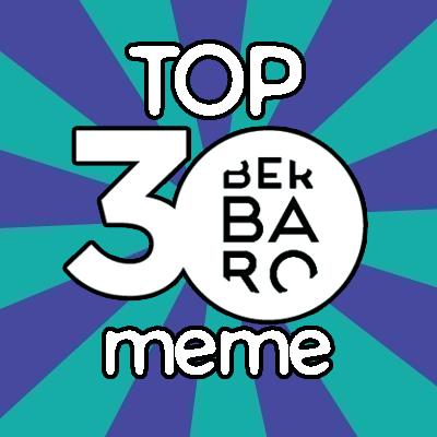 Amaitu  da  TOP30  meme  lehiaketa!